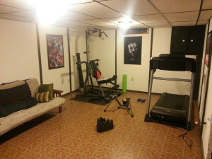 Add Treadmill and Bowflex.