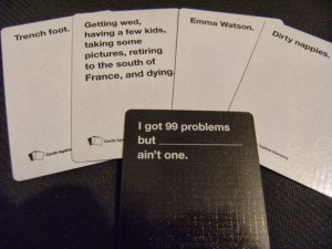 This would have been the tamest hand we played all night.