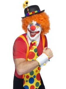 Buff or not, I'm thinking...clown.